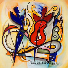 Home Decor Modern hand-painted Music abstract oil painting canvas (no framed) 55