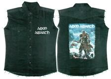 OFFICIAL LICENSED - AMON AMARTH - JOMSVIKING SLEEVELESS WORK SHIRT METAL VIKING