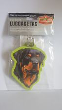 Dog Breed PUG GREAT DANE CHIHUAHUA SCOTTISH TERRIER ROTTWEILER LUGGAGE TAG