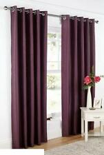 "purple curtains ring top  66"" x 54"" 66"" x 90"" eyelet top good quality"