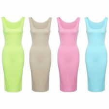 Women Sexy Bodycon Bandage Sleeveless Cocktail Party Dress Casual Out Mini Dress