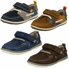 Clarks Infant Boys First Shoes - Softly Boat