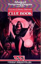 SSI Video Game Strategy Guides S Gateway to the Savage Frontier - Clue B SC NM-