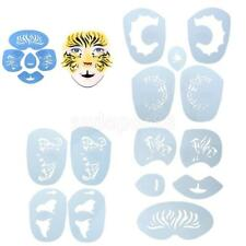 1 Set Animal Face Paint Body Art Stencil Template Airbrush Halloween Makeup