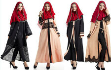 Abaya Jilbab Women Open Cardigan Kaftan Muslim Dress Arab Cocktail Maxi Dresses