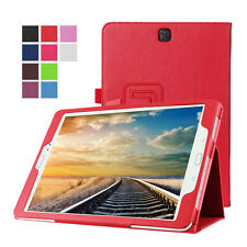 "Leather PU Flip Smart Case Cover Protector For Samsung GALAXY TAB A 9.7"" SM-T550"