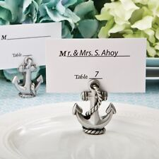Nautical Anchor Place Card / Photo Holder from PartyFairyBox - Wedding Favors