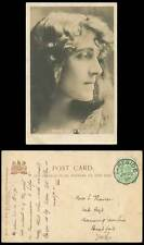 Edwardian Actress Miss Julia Neilson 1905 Old Tuck's Real Photograph Postcard RP