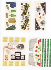 Creative Memories SPORTS Sticker Sheets and Die Cuts - You Choose