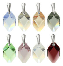 Sterling Silver Pendants made with 6650 Cubist 22mm Swarovski® Crystals