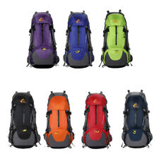 Large Unisex Outdoor Camping Hiking Bag Backpack Rucksack Travel Luggage Daypack