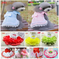 Puppy Dog Dress Vest Clothes Small Cat Summer T-shirt Apparel Clothing for Pet