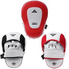 PU leather Muay Thai Sparring MMA Training Boxing Strike Focus Punch Pad Gloves