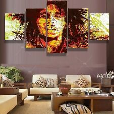Bob Marley Picture Canvas Abstract Modern Poster Painting Wall Art Home Decor
