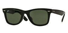 Ray-Ban Wayfarer RB2140F 901 BLACK Men's Sunglasses (Authentic)