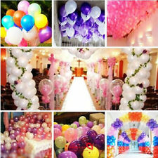 20-100PCS 10'' Inch Large Helium Ballons Latex Wedding Birthday Party Decoration