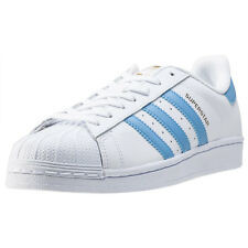 adidas Superstar Foundation Mens Trainers White Blue New Shoes