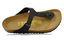 BIRKENSTOCK GIZEH Black ALL SIZES New Arizona Black or White Birkenstock 37 79