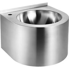 Whitehaus WHNCB1616 Noah's Collection Single Bowl Wash Basin Stainless Steel