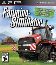 PS3 Farming Simulator Complete Sony PlayStation 3 2013 Free US Shipping