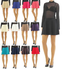 Swing Rock Mini fold - rock Elastic band High waist Mini Skirt
