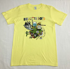 "Beastie Boys ""Machine"" T-shirt Official Adult Mens White New S,XL"