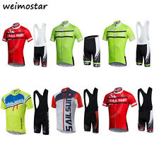 2017 Men's Cycling Jersey Sets MTB Team Bike Ropa Ciclismo Short Sleeve clothing