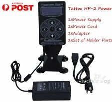 Professional Tattoo Hurricane HP-2 Digital Display Power Supply Machines+AU Plug