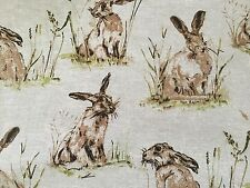 Rabbits and Hares Fabric  ( 54 wide) one meter