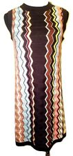 NEW! Authentic Missoni Knit Sweater Dress - Fully lined Colore Brown Chevron
