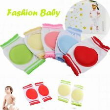 1 Pair Learn To Walk Cozy Breathable Cotton Baby Crawling Sponge Kids Knee Pad