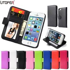 Coque For Apple iPhone 5 Case Wallet Style Case For iphone SE 5S Flip PU Leather