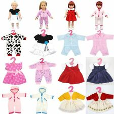 Silk And Cotton Doll Skirt Pajamas 18 Inch American Girl Toy Party Dress