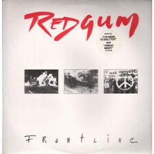 REDGUM Frontline LP VINYL Aussie Epic 1984 10 Track With Inner And Insert In
