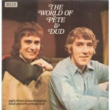 PETER COOK AND DUDLEY MOORE World Of Pete And Dud LP VINYL UK Decca 8 Track