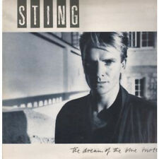 STING Dream Of The Blue Turtles LP VINYL UK A&M 1985 10 Track Wit