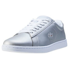 Lacoste Carnaby Evo 117 3 Womens Trainers Light Grey New Shoes