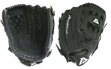 "Akadema Pro Soft Series 13"" Baseball/Softball Utility Glove Black Infield"