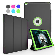 Hard Shockproof Flip Stand Wake Smart Screen Protector Case Cover For iPad 2 3 4