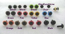 11 PAIR 16mm-24mm Plastic Safety EYES Mix Color Puppet, Teddy Bears, Dolls, PE-1