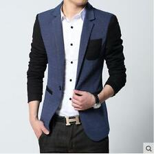 2017 Fashion Slim Fit One Button Blazers Suit Coat Spring Casual Jackets