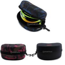 Snowboard Snowmobile Snow Ski Goggles Glasses Protector Box Hard Case Clam Shell