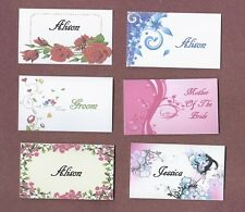 PERSONALISED WEDDING TABLE NAME PLACE CARDS PLACE SETTINGS BIRTHDAY ANNIVERSARY