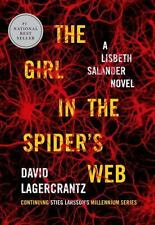 Millennium: The Girl in the Spider's Web Bk. 4 by David Lagercrantz (2015, Hard…