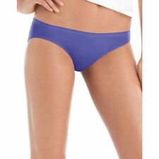 6 PACK ~ HANES Womens Assorted Colors 100% Cotton Bikini Underwear Panty Briefs