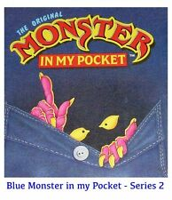 Monster in my Pocket - Series 2 - Mini Figure MIMP Matchbox MEG - Blue