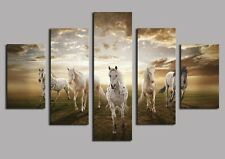 The White Horse Picture Canvas Painting Abstract Wall Modern Art Home Decor
