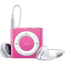 USED LIGHT PINK Apple iPod shuffle 4th Generation MP3 MP4 Music Player Clip 2GB
