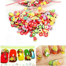 1000x 3D Nail Art Mixed Design Fimo Slices Polymer Clay Stickers Manicure Decor