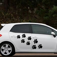 DOG PAW PRINT stickers car window van cat wall vinyl bedroom sticker decal dogs